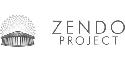 Burning Man Zendo Project Logo Psychedelic Peer Support